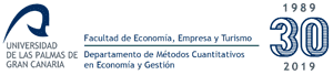 Departamento de Métodos Cuantitativos en Econom&iaacute;a y Gestión -Universidad de Las Palmas de Gran Canaria